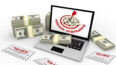 Affiliate marketing with coupons